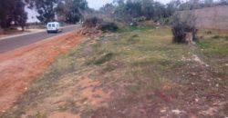 3505 m² sur route Enfidha