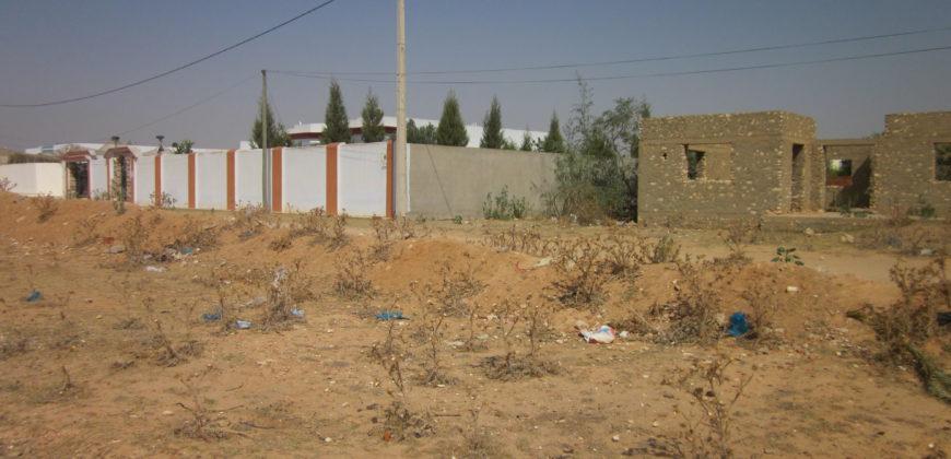 carcasse villa 168m² sur terrain 543m² routa matar km6.5 sfax
