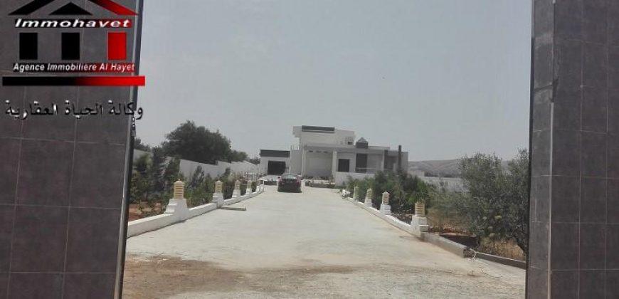 Villa de maitre à Zaghouan