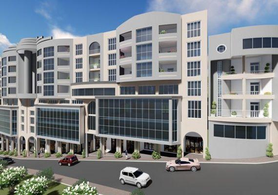 La promotion immobilière SARL CCA BECHROUNE située au centre ville d'Akbou (en face des banques : CNEP, BDL et la BADR). Met en vente des appartements et locaux commerciaux.