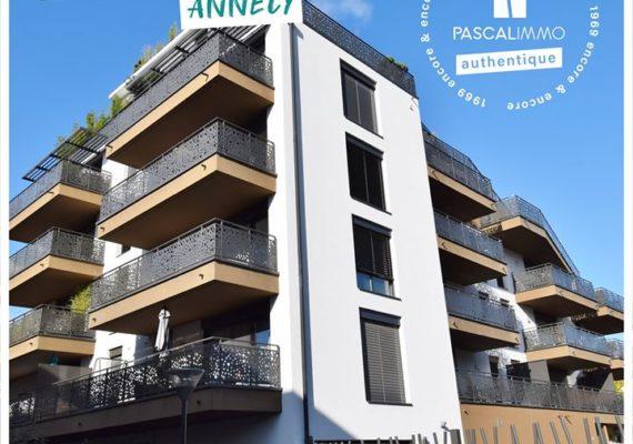 Sublime appartement à Annecy (48,2m² / 2 pièces / 1 chambre) à 276 500€ !