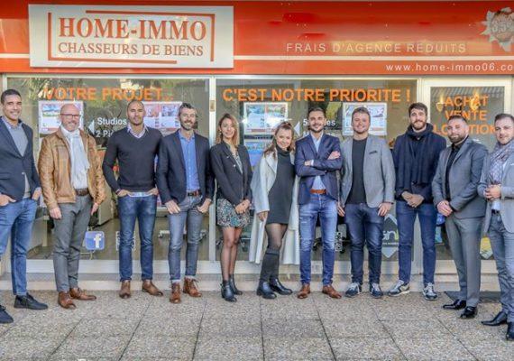 ???Les équipes des Agences Home Immo Antibes et Cagnes sur Mer sont à votre disposition pour vos futurs projets immobiliers ✍️?