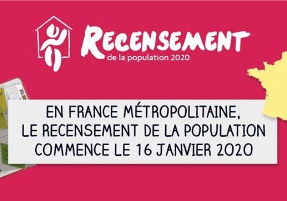 ?Le recensement c'est un geste civique et utile pour tous ?il se déroulera à #Dinan du 16 janvier au 22 février 2020.
