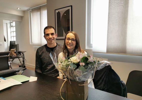 ✅Un vrai plaisir d'avoir accompagné notre venderesse dans la vente de son appartement et d'avoir permis à ce jeune couple débordant de projets de réaliser cette acquisition !