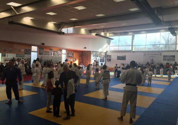Aujourd'hui nous avons fêté la nouvelle année au Judo Club Draveillois ?