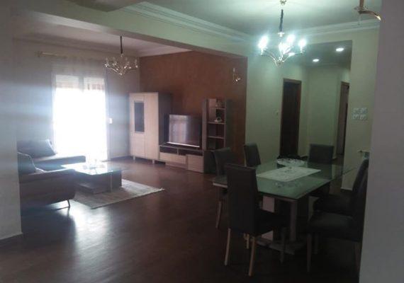 Agence immobilière ma maison met en location un niveau de villa f5 de 160 m2 très bien aménagé entièrement meublé cuisine équipée chauffage centrale garage et terrasse à ouled fayet CC3