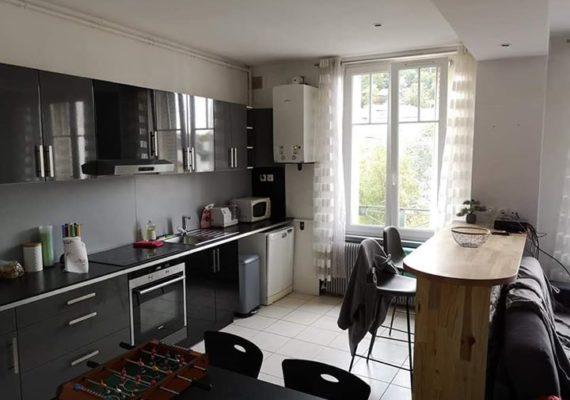 NANCY en exclusivité, au cœur de la ville, proche fac de lettre, venez découvrir ce magnifique appartement de 56m2.