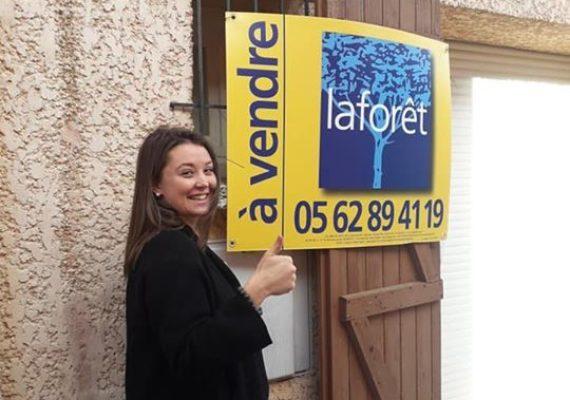 Encore un Favoriz rentré par Charlotte en cœur de village de Lapeyrouse Fossat !! Cette maison n attend que vous !!