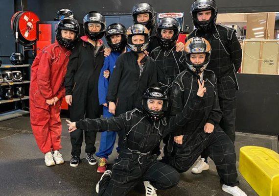 Clôture de cette journée avec toute l'équipe de ??? laforêt Saint-Jean ??? avec un challenge de karting ???