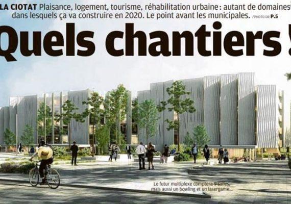 Les 10 grands chantiers qui vont rythmer l'année 2020 à #LaCiotat.