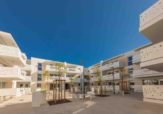 Découvrez en images notre nouvelle réalisation à Elne près de Perpignan. Des appartements T2 et T3 neufs à louer à partir de 328 euros charges comprises (hors animations).