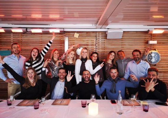 Pour bien commencer l'année, déjeuner d'équipe qui a réuni tous les collaborateurs des agences ⭕️rpi du Cannet et de Mougins. Un moment de grande convivialité ! ??✨
