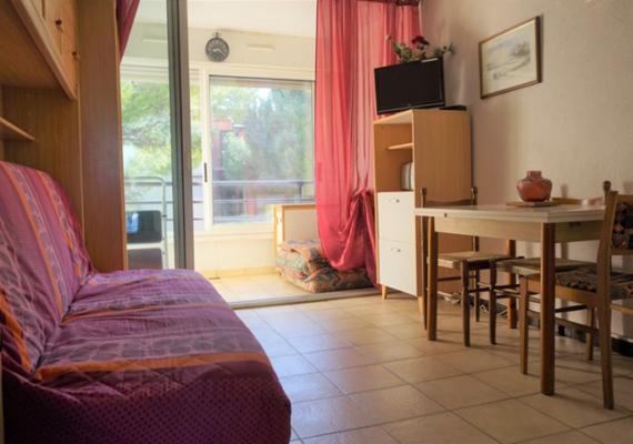 Appartement de 25m² avec un balcon de 5m², proche de tous commerces et des lieux d'animations !