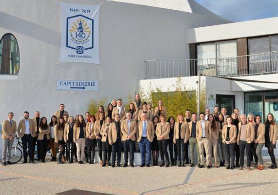 ℹ️ En ce début d'année les 50 collaborateurs du groupe Rouvière Immobilier se sont réunis à PORT CAMARGUE Le Grau du Roi Port Camargue