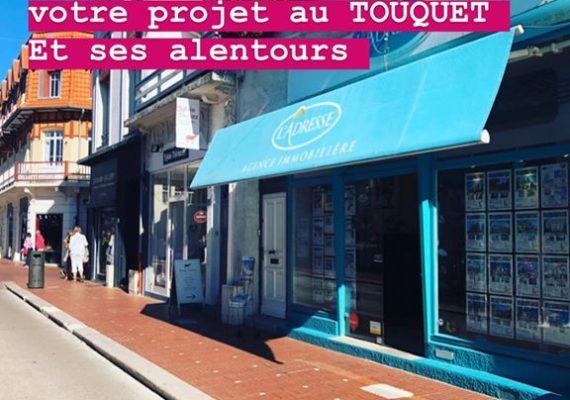 L'agence L'ADRESSE du TOUQUET est présente sur le TOUQUET et ses alentours.