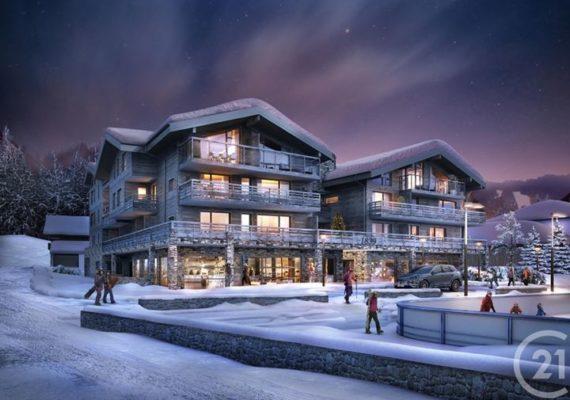 Vendu ! Ce magnifique appartement #century21 #groupethibonimmobilier dans cette résidence récente aux Gets, au pied des pistes ?⛷ et de la patinoire ⛸.