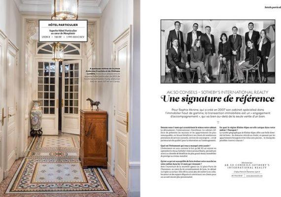 AK SO Conseils Lyon Sotheby's International Realty