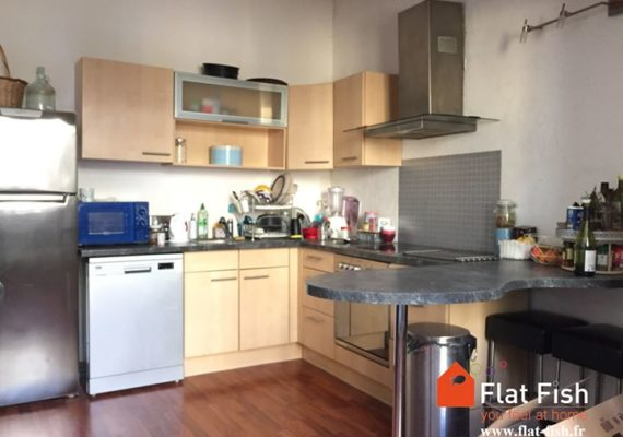 www.flat-fish.fr vous propose à la location longue durée, bail d'un an meublé = >