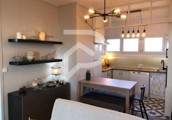 Ce bel appartement de 56 m² entièrement rénové, situé dans les hauteurs de LIMAY, se compose d'une entrée, deux chambres, une salle de bains, un wc, une cuisine équipée ouverte sur un salon-séjour donnant sur un balcon plein Sud, avec une vue sur un beau parc paysagé ??.