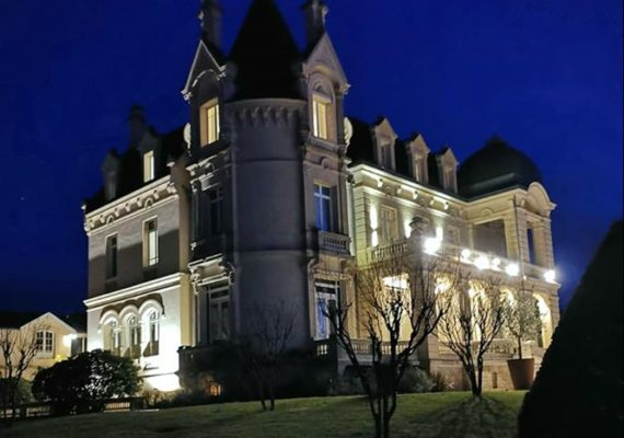? Petite parenthèse hier soir et ce matin avec ma chérie ? au Château du Grand Barrail ? à Saint Emilion‼