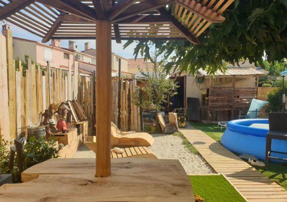 AGDE: MAISON T4 de 85 M² proche commodités, rénovée, suite parentale en rdc, terrain et GARAGE indépendant 225000€
