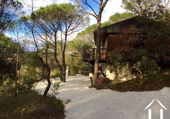 Vrijstaand huis met Mediterrane bostuin en prettig uitzicht in de Rhone – Alpen voor €269 500