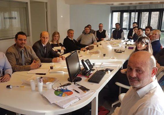 Notre réunion annuelle avec l'agence de Montpellier et Béziers.