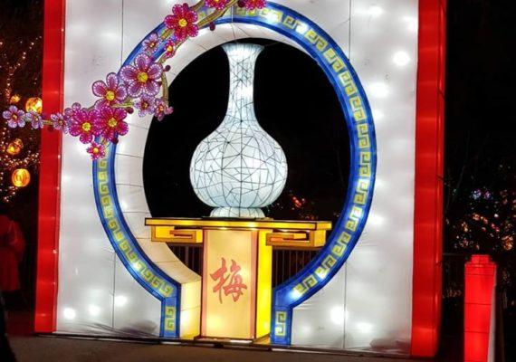 Unique à Nice : Festival des lanternes chinoises ???