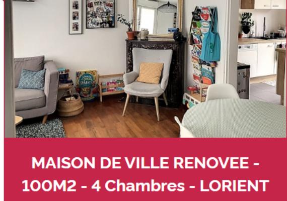 ✨VENDU! Maison quartier Kreisker à Lorient!✨