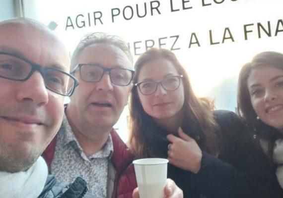 Ce matin c'était la traditionnelle galette avec l association Amepi et votre agence @nestenn_poitiers.