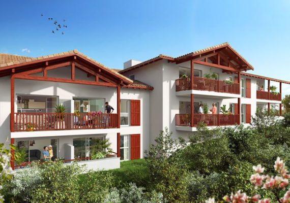 Appartements de standing neufs à Bidart, coté Océan