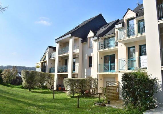 Encore une Exclusivité à la vente, quartier de Locmaria, bel appartement T2 avec vue sur parc…86 320 € FAI