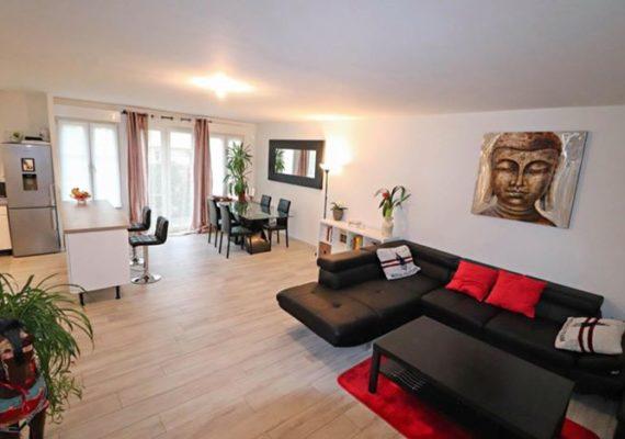 ST WITZ, dans un environnement privilégié, appartement Duplex en rez de jardin, à 5 minutes de l'A1 ?et 15 minutes de Roissy ✈️