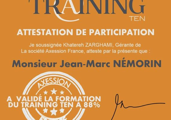 ? AXESSION FRANCE organise plusieurs présentations d'opportunités d'affaires ainsi que des formations continues ???. Animées par nos managers France ????????????????. Pour plus d'informations, contactez-moi ????