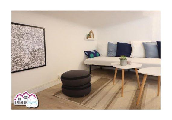 -LA SEYNE SUR MER – Studio en centre ville entièrement meublé avec vue mer