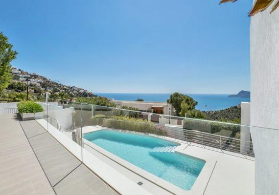 Le quartier résidentiel d'Altea Hills est une des perles de la Costa Blanca du fait de sa situation exceptionnelle.