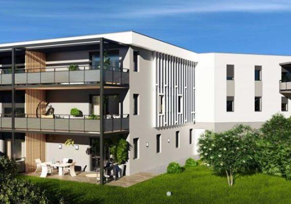 Saint-Heand, très bien situé au calme avec vue surplombante et à proximité immédiate de L'Etrat et de toutes commodités. Réhabilitation d'un ancien couvent en plusieurs appartements de standing allant du T2 au T5 avec jardins ou terrasses. Nous vous proposons de nombreux lots !