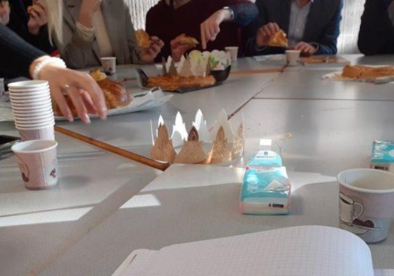 Ce matin réunion SIA38 BY AMEPI Alfa VOIRON, gourmande, chaleureuse et productive !