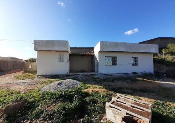agence bochra met en vente une maison a jaafer couvert 140 m2 et terrain 200 m2