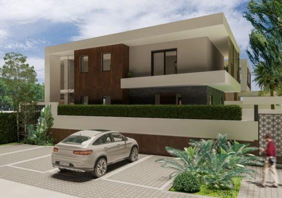Vendesi a 📍#Parete 🏡#Villa singola su due livelli fuori terra di 95mq + Piano seminterrato di 120Mq
