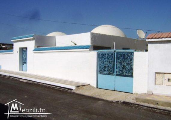 Villas modernes sur un terrain de 400 m² , situées à Soliman-plage #Nabeul , à 375 m de la plage , zone résidentielle calme et propre avec titre de propriété.🏡🏖❤️