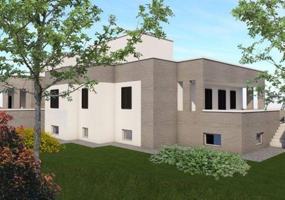Castellana Grotte villa di nuova costruzione disposta su tre superfici per un totale di 275 mq. con giardino di 190 mq. Capitolato in ufficio.