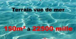 lotissement vue de mer à kélibia