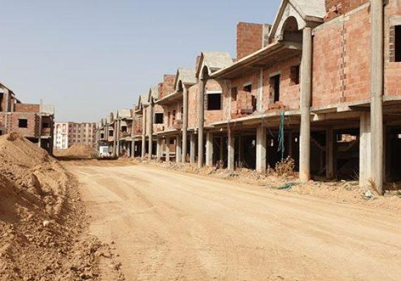 تقدم المشروع بنسبة les villas