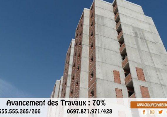 Des appartements semi fini, 1er 2ème et 3ème étage :