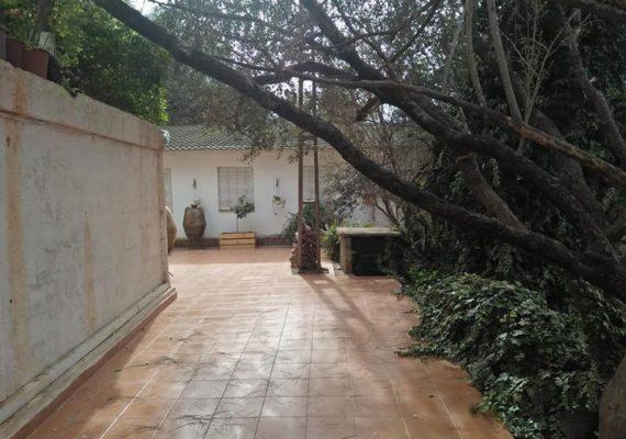 Agence immobilière ma maison met en location un pavillon meublé à les vergé birkhadem résidence clôturé dans une impasse