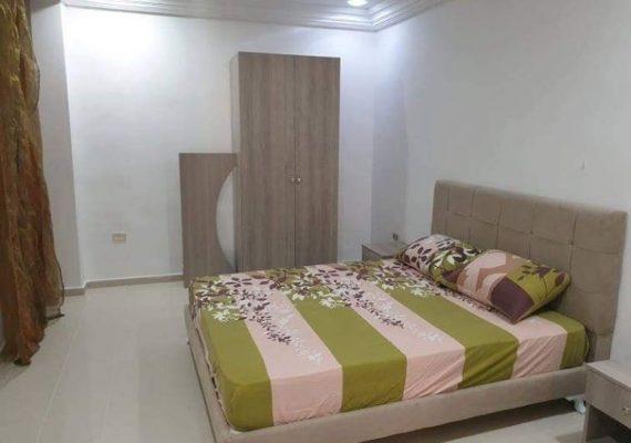 Un très bel appartement s+2 climatisé richement meublé à Hammamet centre 5 minutes de la mer.