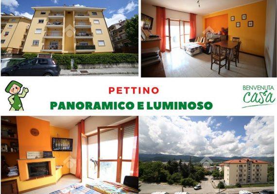 Desideri un comodo appartamento, luminoso, panoramico di oltre 100 mq con garage e cantina ad un piccolo prezzo?