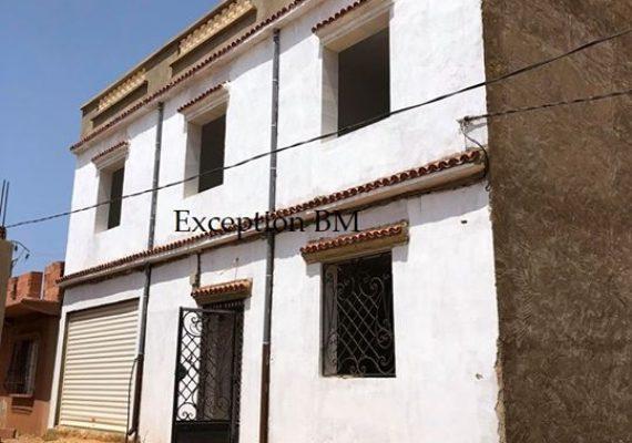 L'agence immobilière Exception met en vente une villa d'une superficie de 200m2 à Ain Brahim Mostaganem