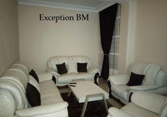 L'agence immobilière Exception met en vente un appartement F2 d'une superficie de 45m2 au RDC , (mafteh ) à Mostaganem (cité 40/80 logement) ARSA